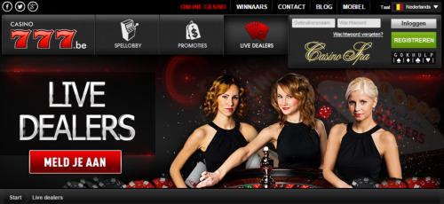 Casino777 live casino